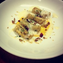 Sweet Potato Agnolotti